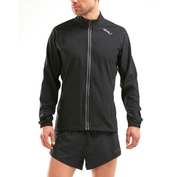 2XU - MEN'S XVENT RUN JACKET (BLACK)