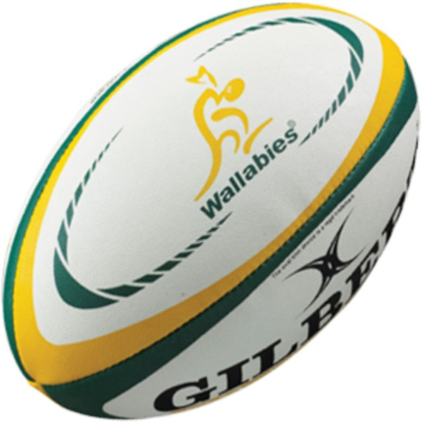 Gilbert - Australia Replica Ball (Size 5)