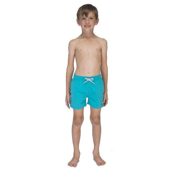 TOM & TEDDY - TOM & TEDDY BOY'S SHORTS - SOLID POOL BLUE