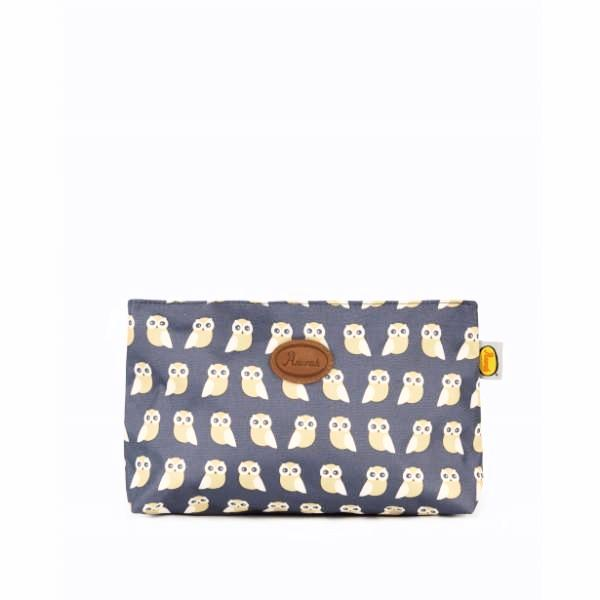 ANORAK - KISSING OWLS MEDIUM TOILETRY BAG