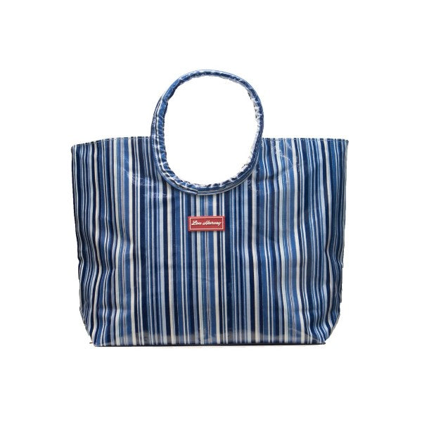 LOU HARVEY - SMALL BEACH BAG (AMELIA BLUE)