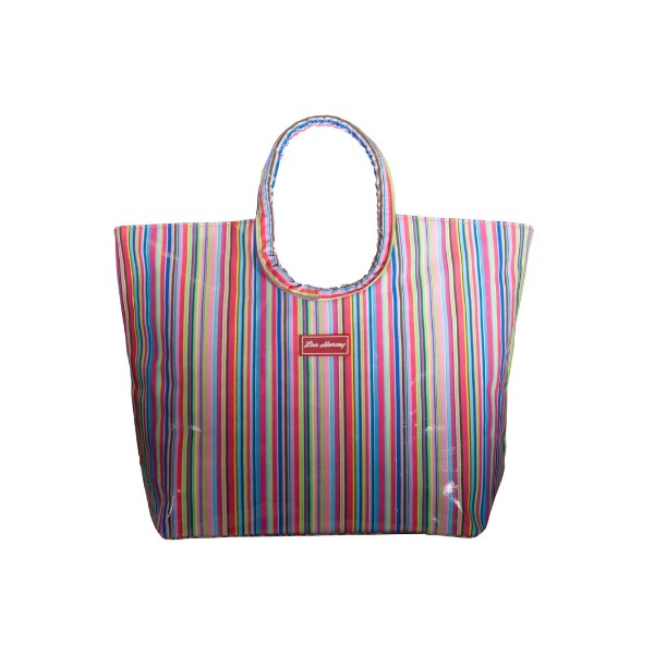 LOU HARVEY - SMALL BEACH BAG (AMELIA MAGENTA)
