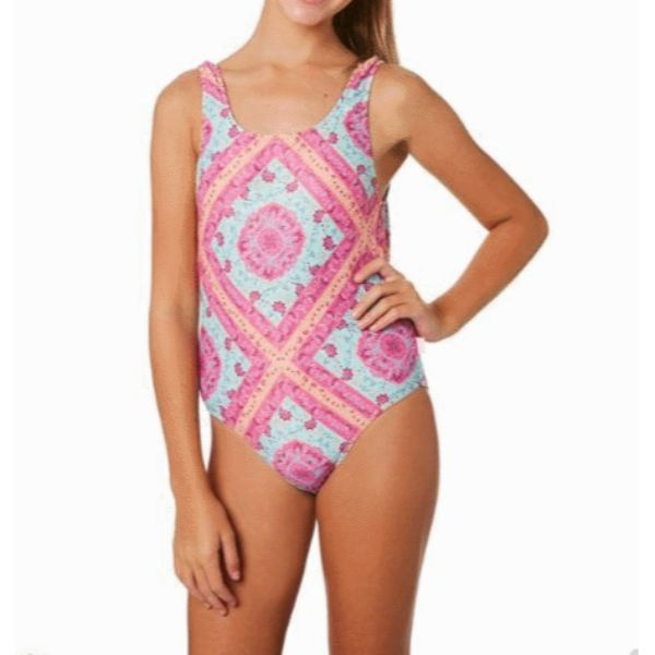 SeaFolly - Girls Bohemian Bouquet 80`S Tank One Piece