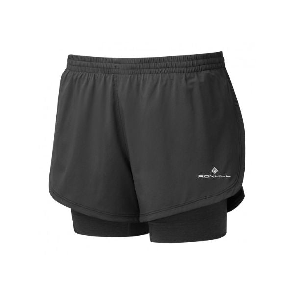RONHILL - WOMEN'S STRIDE TWIN SHORT