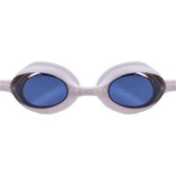 Blue Seventy -  Element Goggles with Mirrored Lens (White/Blue)
