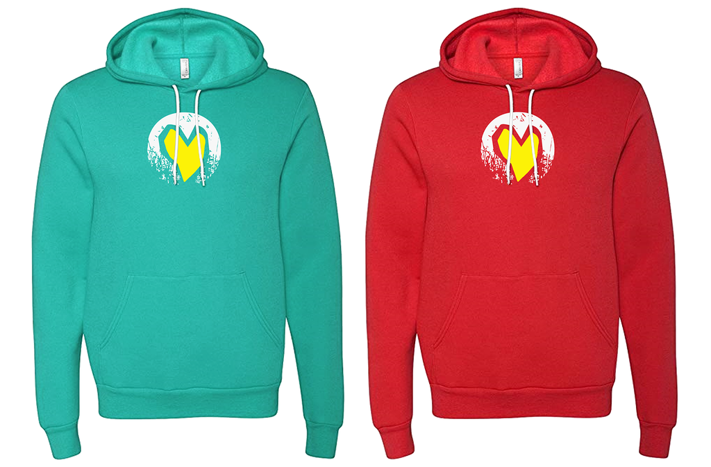 CENTER OF THE HEART HOODIE