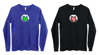 CENTER OF THE HEART LONGSLEEVE