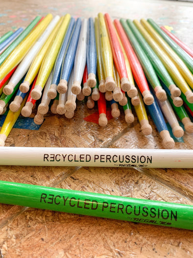RECYCLED PERCUSSION DRUMSTICKS