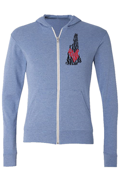 GRANITE STATE ZIP-UP