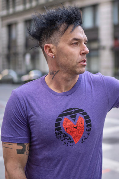 MENTAL HEALTH  HEART TEE