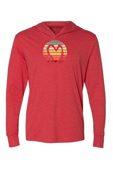 STRIPED HEART LONG SLEEVE