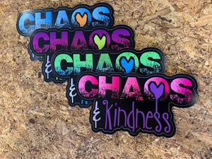 Chaos & Kindness Throwback Sticker Pack