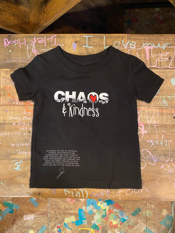 CHAOS & KINDNESS BABY TEE