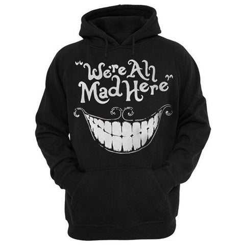 Cheshire Cat Smile Face 3D Print Hoodies