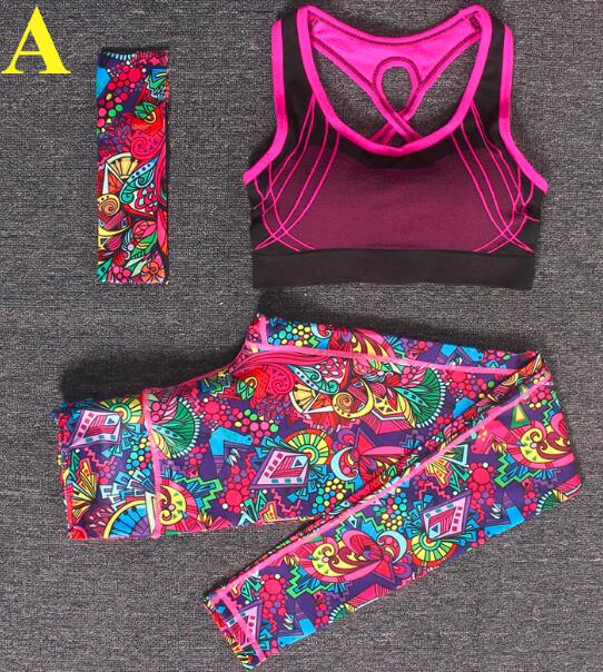 3-Piece Yoga Sportwear for Women