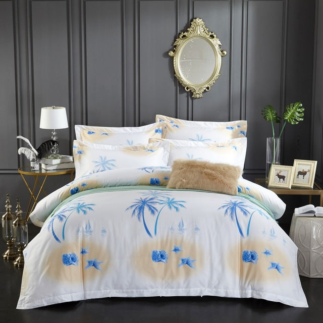 Luxurious Egyptian Cotton Bedding Set