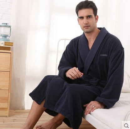 Men's Plus Size Bathrobe