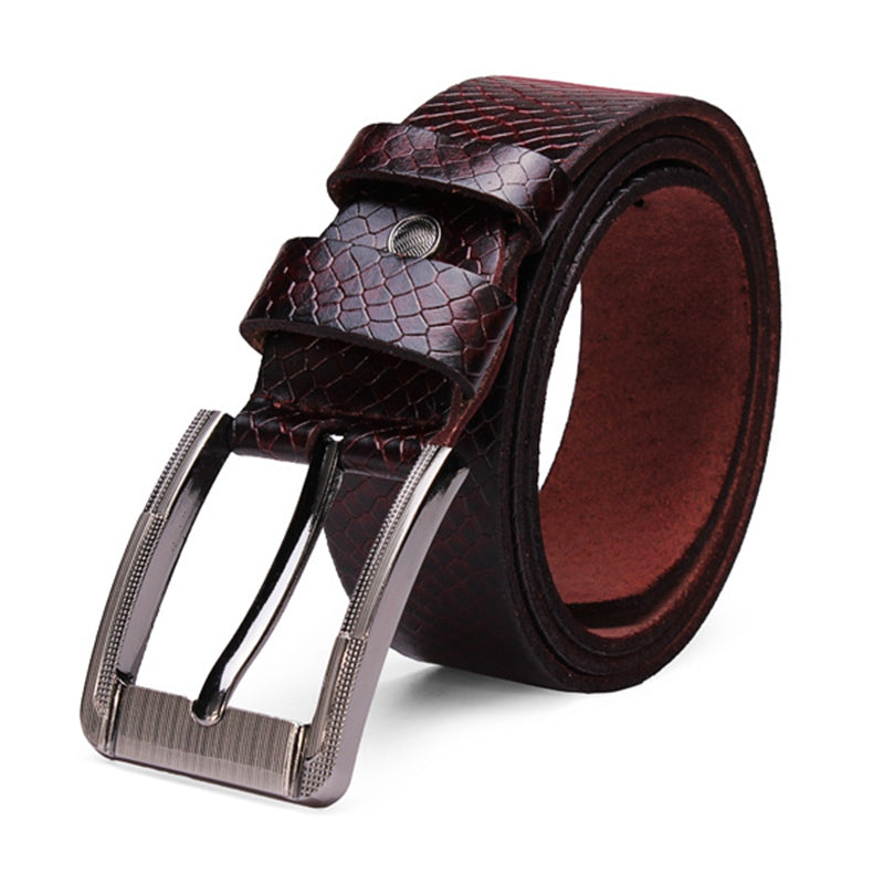 Jet Setter - Metal Buckle Belt