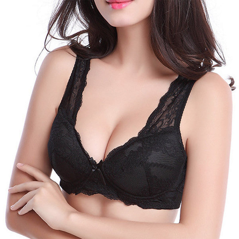 Jet Setter - Women's Lace Push Up Bra