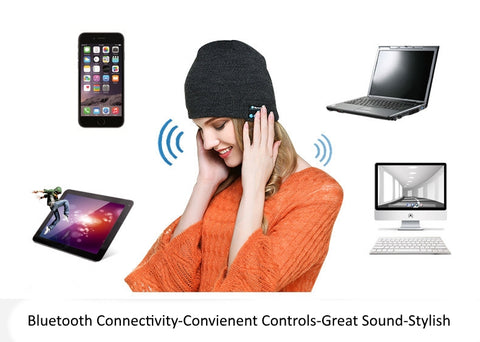 Bluetooth Beanie Features