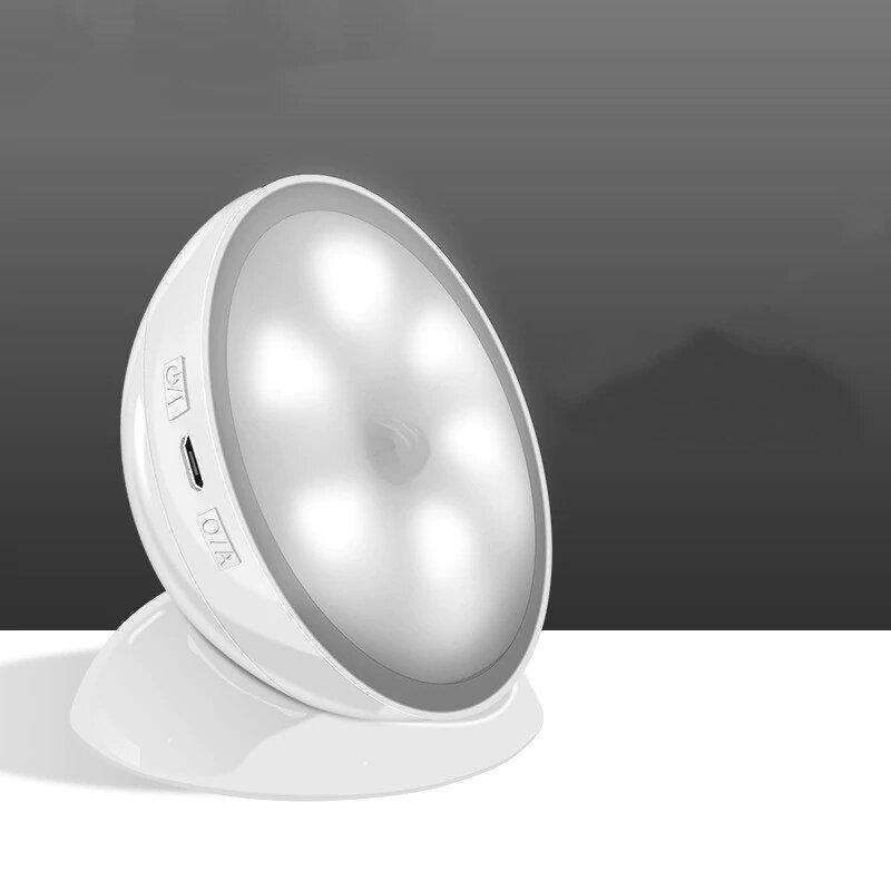 stylishlytechie:Magnetic Rotatable Motion Sensor Night Light