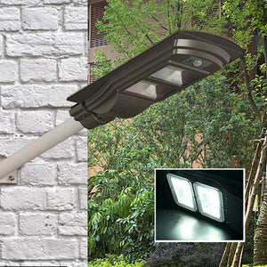 stylishlytechie:Motion & Light Sensing Solar LED Wall Light