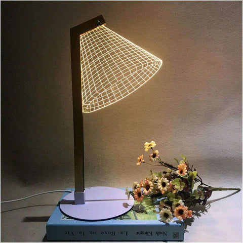 stylishlytechie:Cool 3D Optical Reading Lamp: