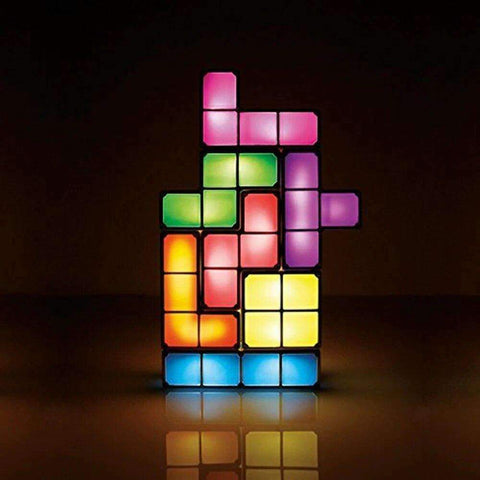 stylishlytechie:DIY Block Building Night Light