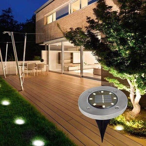 stylishlytechie:LED Solar Power Ground Lights