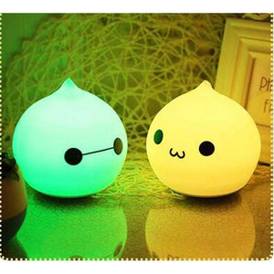 stylishlytechie:Squishy Color Changing Night Lights