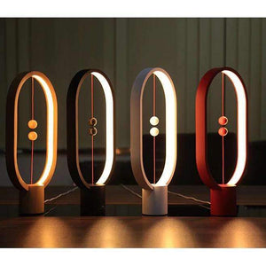 stylishlytechie:Ellipse Magnetic Mid-Air Table LED Lamp