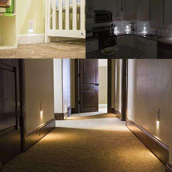 stylishlytechie:Triple LED Night Light Plug Cover