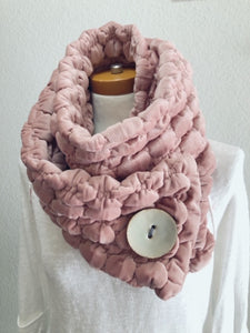 Velvet Bubble Scarf
