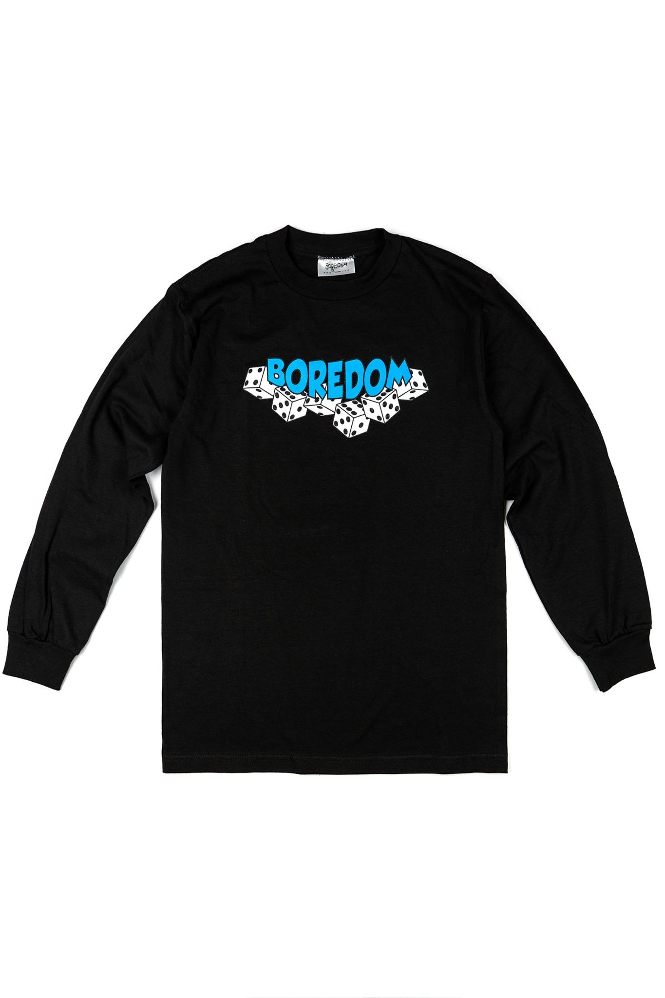 Dice Long Sleeve T-Shirt - Black