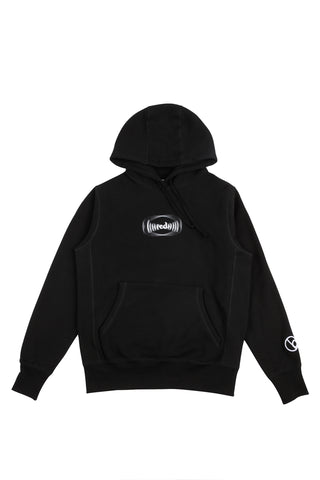 Frequency Hoodie - Black / White
