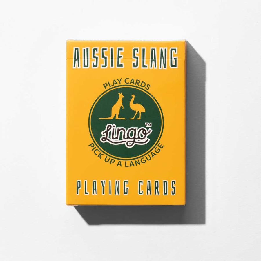 Aussie Lingo playing cards