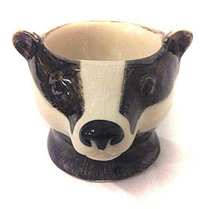Badger Face  Egg Cup