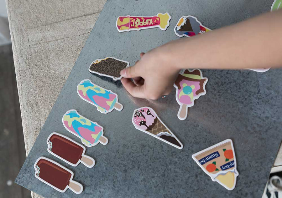 Iconic Ice Cream Fridge Magnets - Melt