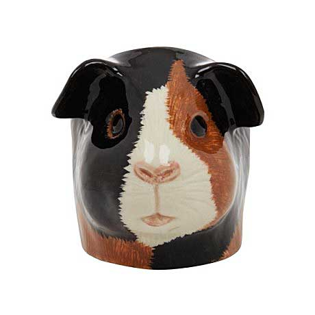 Multi Coloured Guinea Pig Face Egg Cup