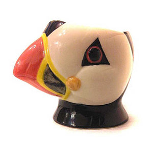 Puffin Face Egg Cup