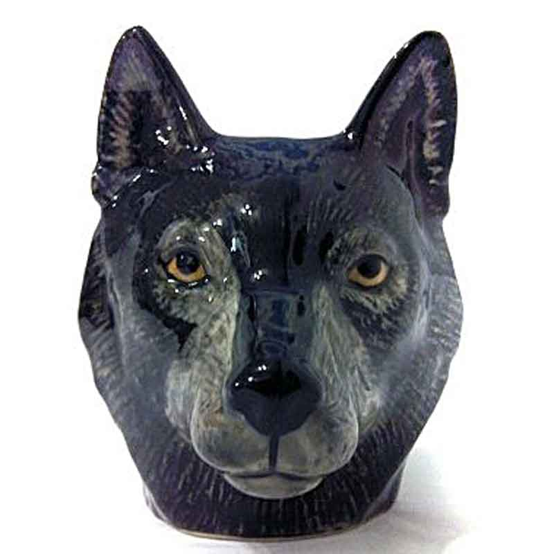 Wolf Face Egg Cup