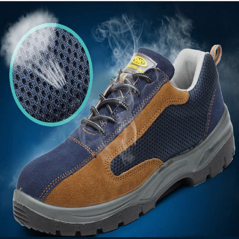 Premium lightweight steel-toe shoes