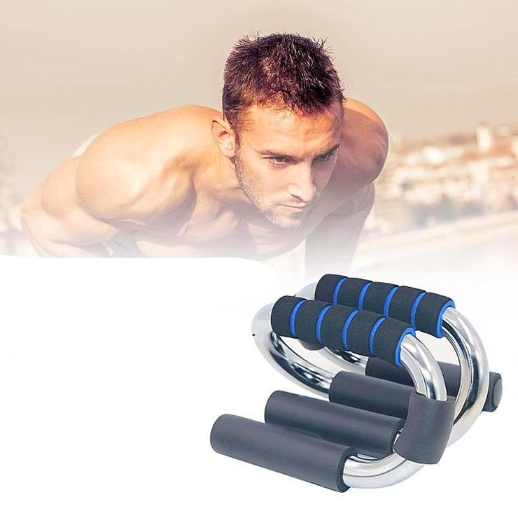 Push Up Bar Workout Push Up Handles With Foam Padded Grip For Chest Exercises And Training (1 Pair)