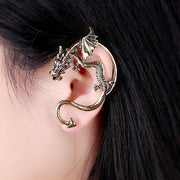 TLK 2018 Dragon Ear Cuffs for Women