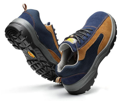Lightweight Steel Toe Shoes - Extra Durable, Comfortable Work Shoes for Summer