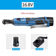 Electric Wrench 3/8 Cordless Ratchet 16.8V With Battery And Charger