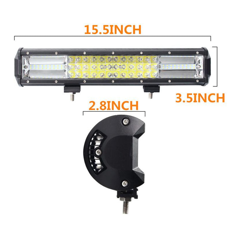 Light Bar 432W Triple Row LED Off Road Cree Lights For SUV And Trucks