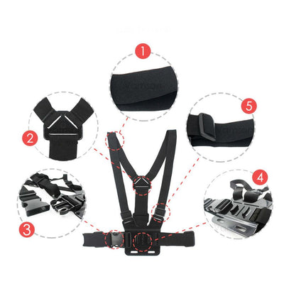 TLK ® CHEST STRAP TRIPOD HARNESS MOUNT