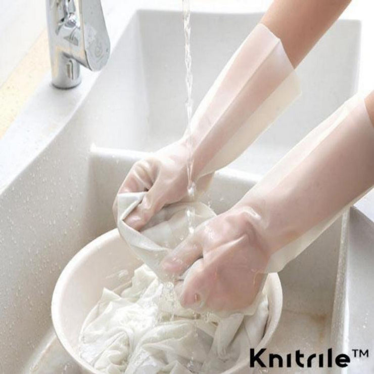 Knitrile™ Heavy Duty Rubber Gloves