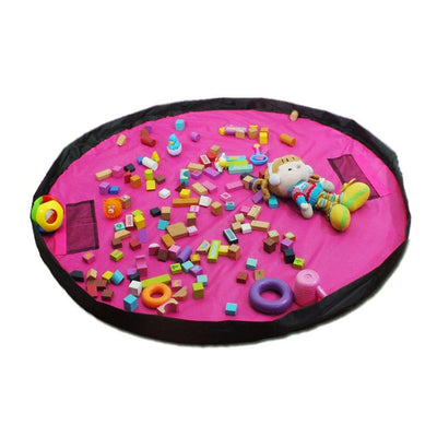 Portable Toy Storage Bag and Mat
